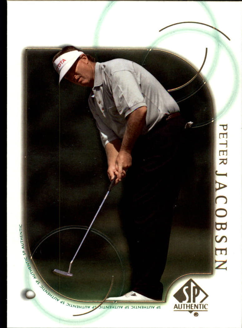 2001 SP Authentic #31 Peter Jacobsen