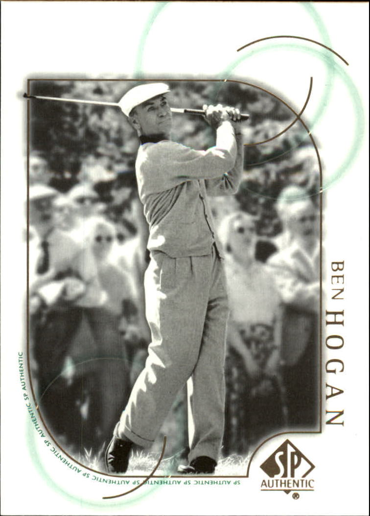 2001 SP Authentic #34 Ben Hogan