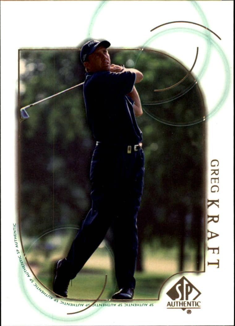 2001 SP Authentic #35 Greg Kraft