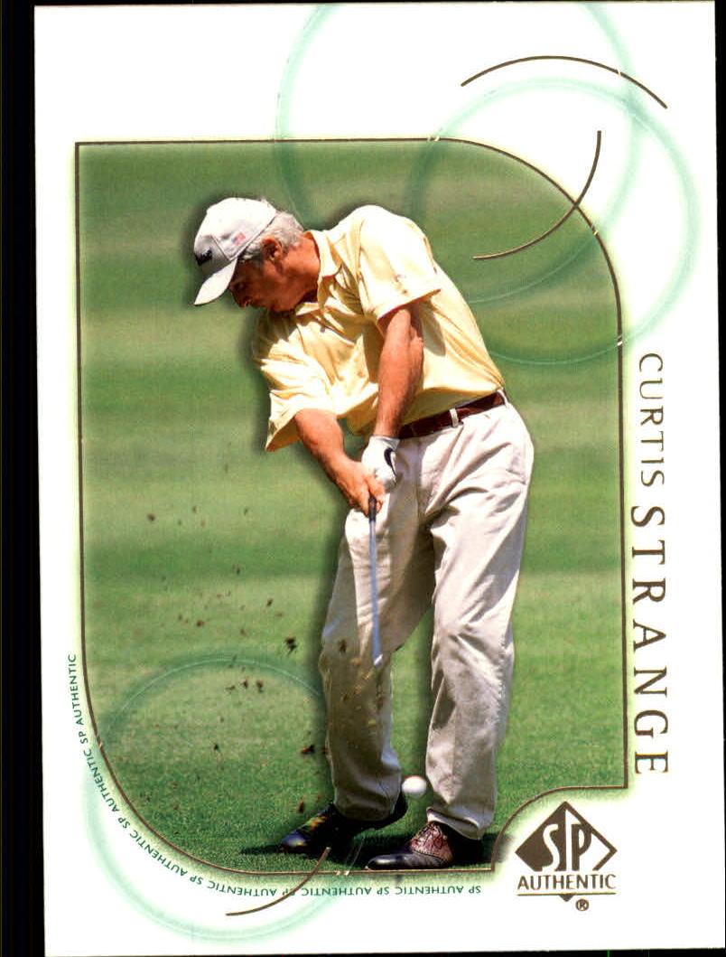 2001 SP Authentic #39 Curtis Strange