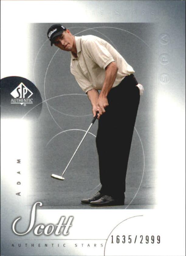 2001 SP Authentic #48 Adam Scott AS RC