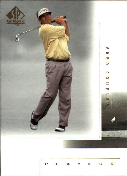 2001 SP Authentic #112 Fred Couples MP