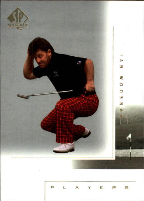 2001 SP Authentic #116 Ian Woosnam MP