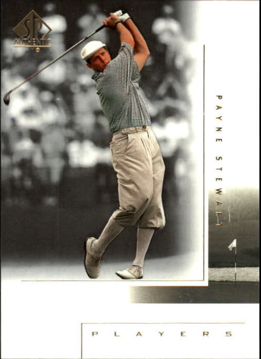 2001 SP Authentic #123 Payne Stewart MP
