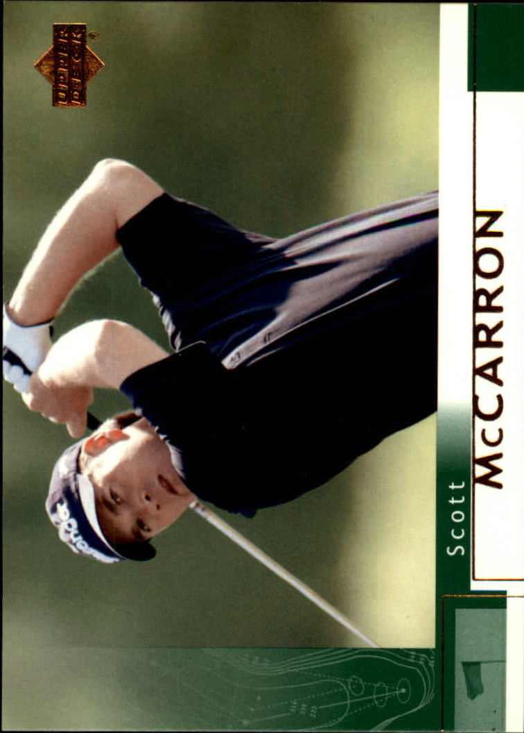 2002 Upper Deck #44 Scott McCarron RC