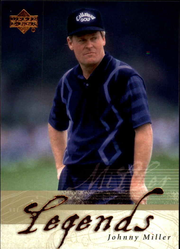2002 Upper Deck #49 Johnny Miller LEG