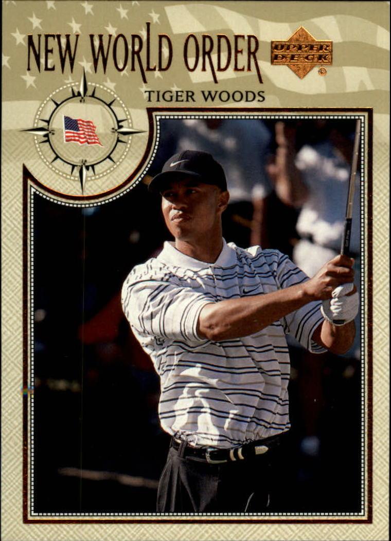 2002 Upper Deck #61 Tiger Woods NWO