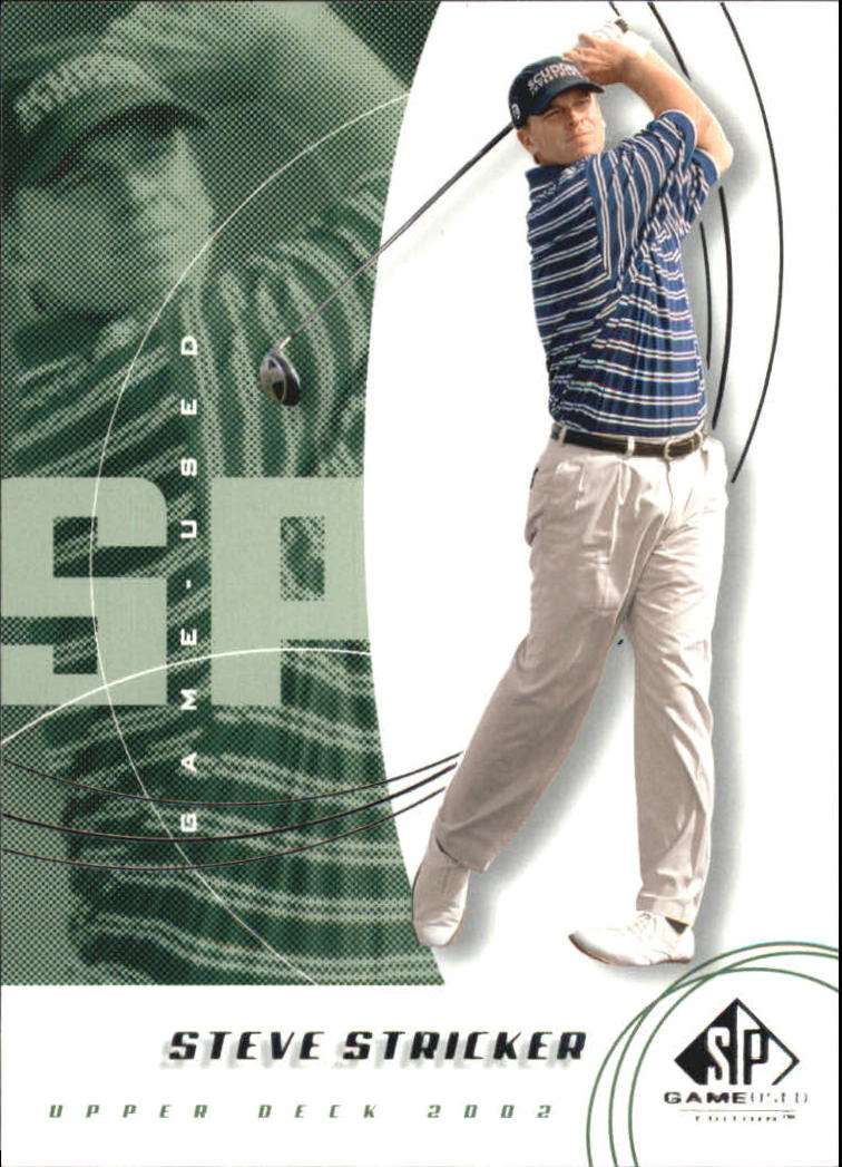 2002 SP Game Used #44 Steve Stricker