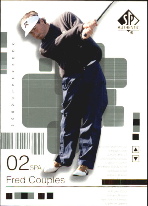 2002 SP Authentic #4 Fred Couples