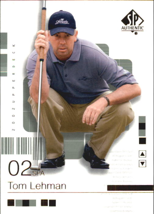 2002 SP Authentic #15 Tom Lehman