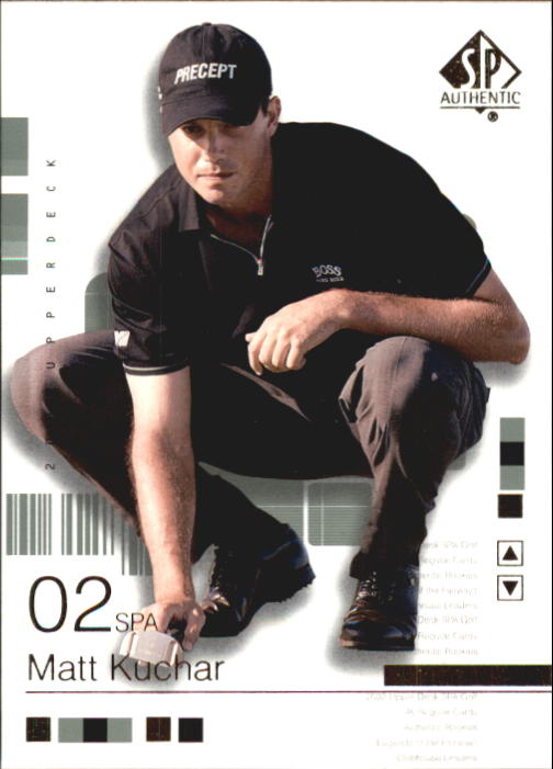 2002 SP Authentic #17 Matt Kuchar