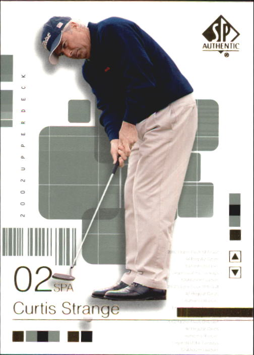 2002 SP Authentic #18 Curtis Strange