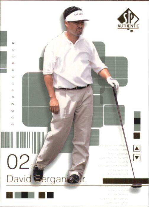 2002 SP Authentic #21 David Berganio Jr.