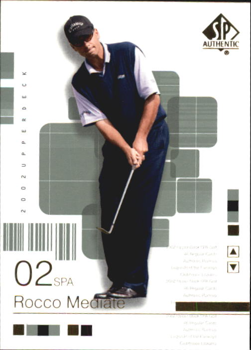 2002 SP Authentic #23 Rocco Mediate