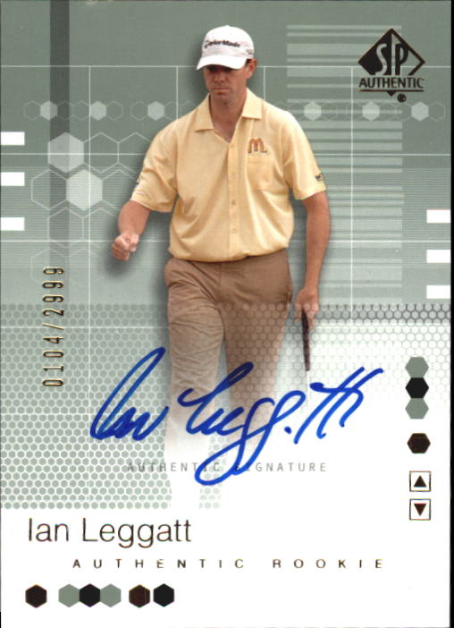 2002 SP Authentic #92 Ian Leggatt AU RC