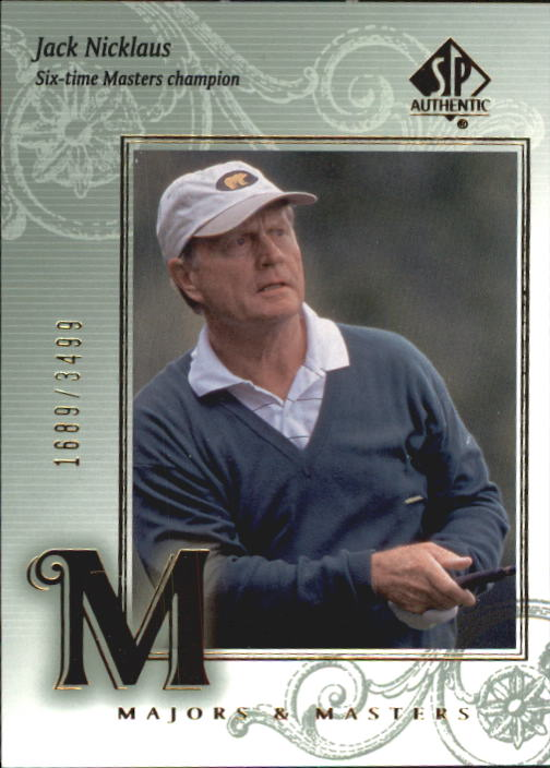 2002 SP Authentic #121 Jack Nicklaus MM