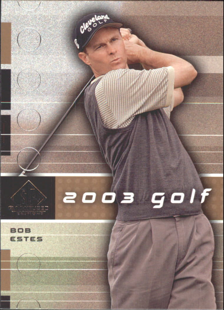 2003 SP Game Used #9 Bob Estes