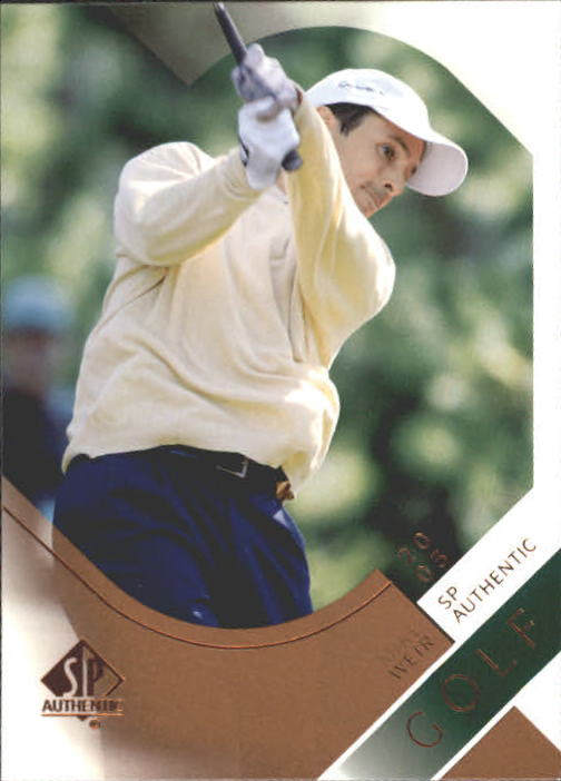 2003 SP Authentic #14 Mike Weir