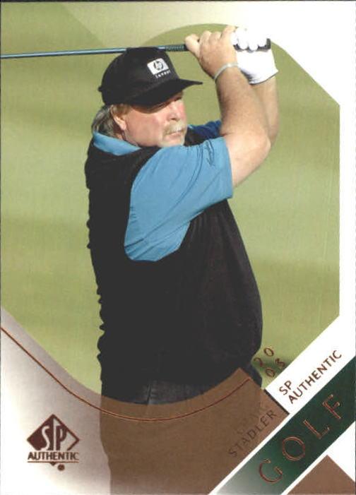 2003 SP Authentic #27 Craig Stadler