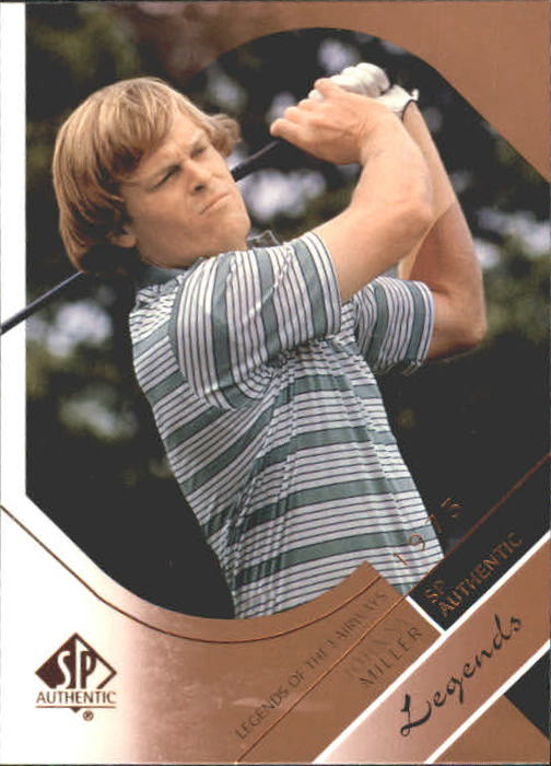 2003 SP Authentic #36 Johnny Miller LF