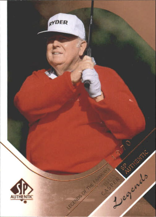 2003 SP Authentic #37 Billy Casper LF