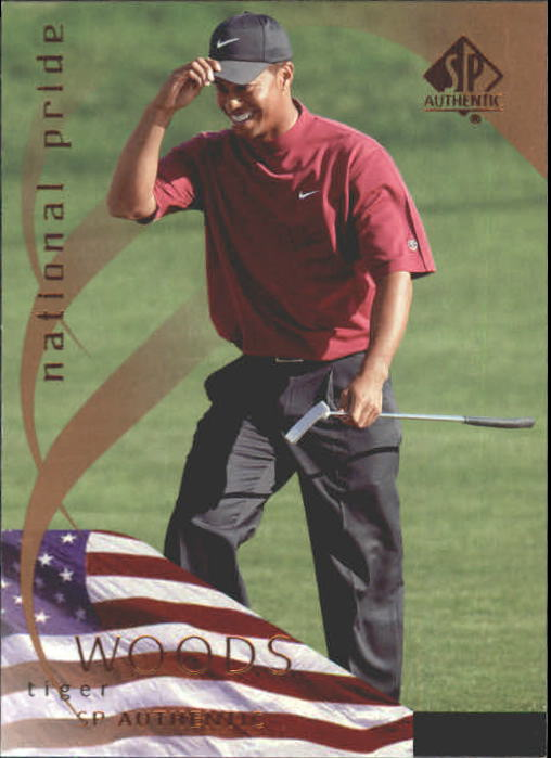 2003 SP Authentic #38 Tiger Woods NP