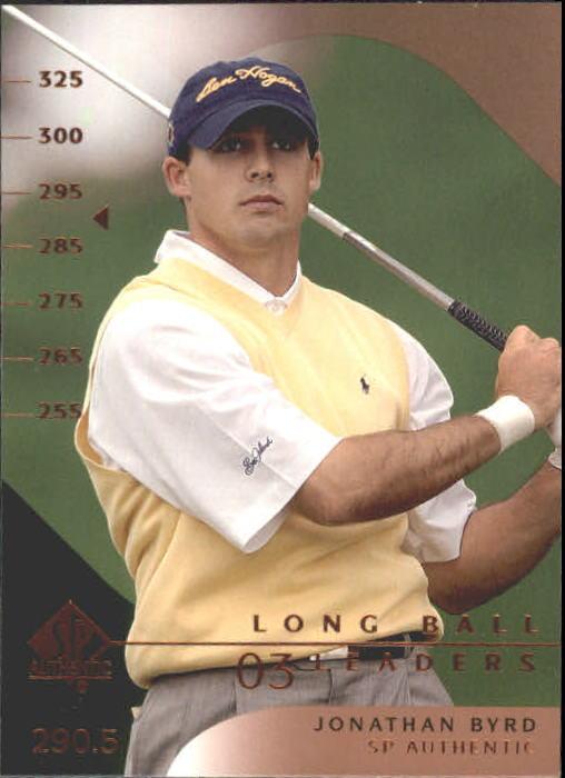 2003 SP Authentic #54 Jonathan Byrd LBL