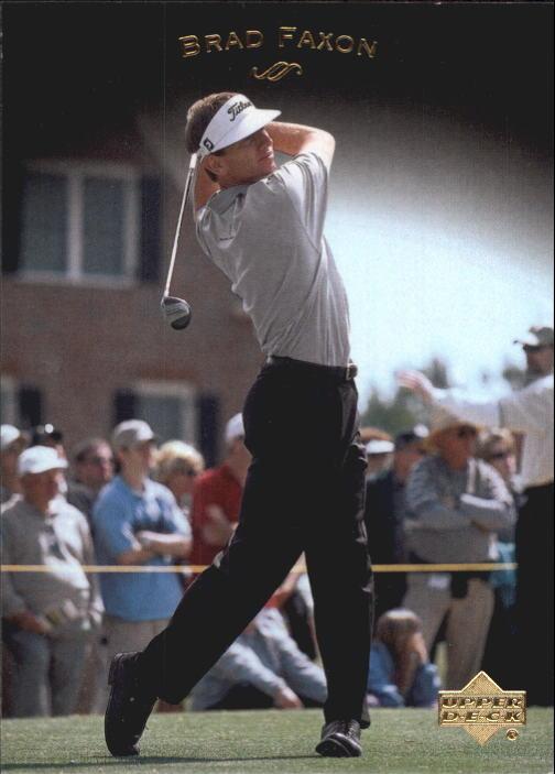 2003 Upper Deck #30 Brad Faxon