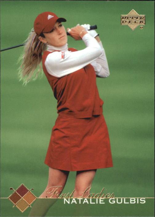 2003 Upper Deck #53 Natalie Gulbis FL RC