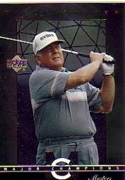 2003 Upper Deck Major Champions #7 Billy Casper 70 Masters