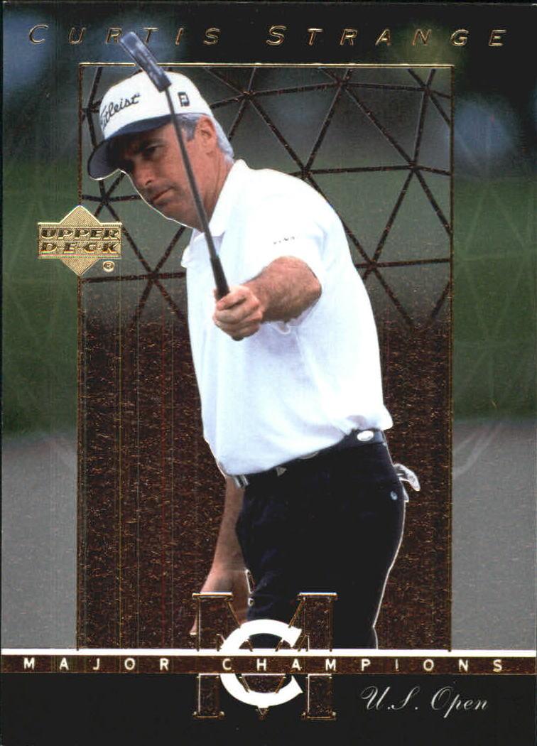 2003 Upper Deck Major Champions #14 Curtis Strange 88 US Open