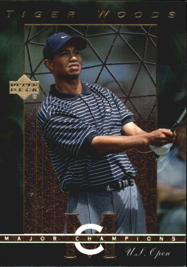 2003 Upper Deck Major Champions #34 Tiger Woods 00 US Open