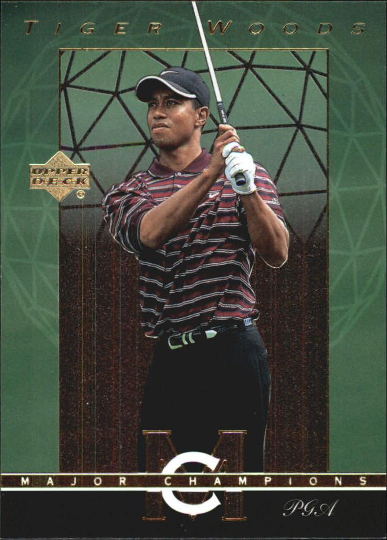 2003 Upper Deck Major Champions #35 Tiger Woods 00 PGA