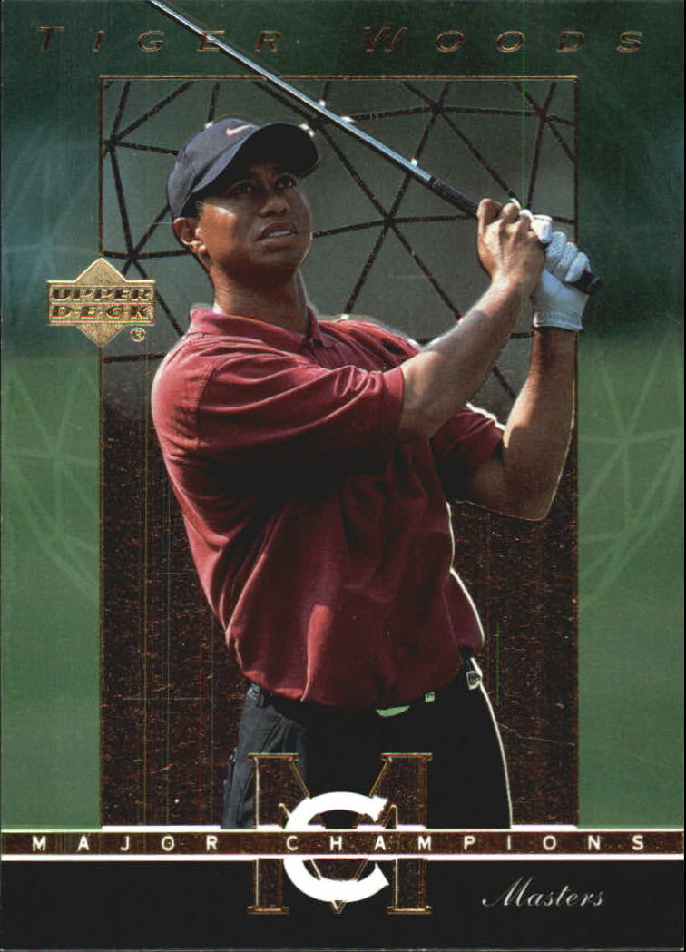 2003 Upper Deck Major Champions #36 Tiger Woods 01 Masters