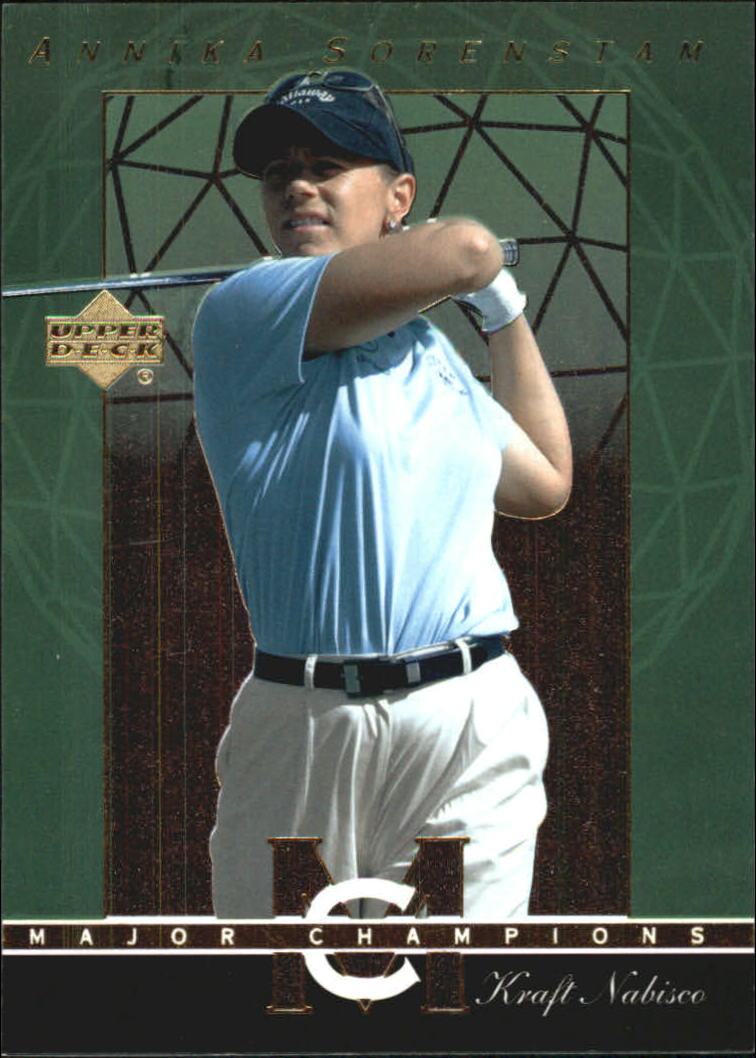 2003 Upper Deck Major Champions #42 Annika Sorenstam 02 LPGA