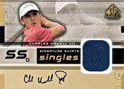 2003 SP Game Used Signature Shirts Singles #CH Charles Howell