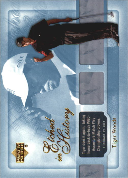 2004 Upper Deck #43 Tiger Woods EH
