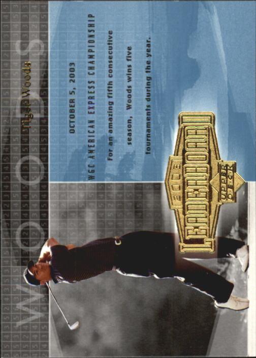 2004 Upper Deck #57 Tiger Woods LB
