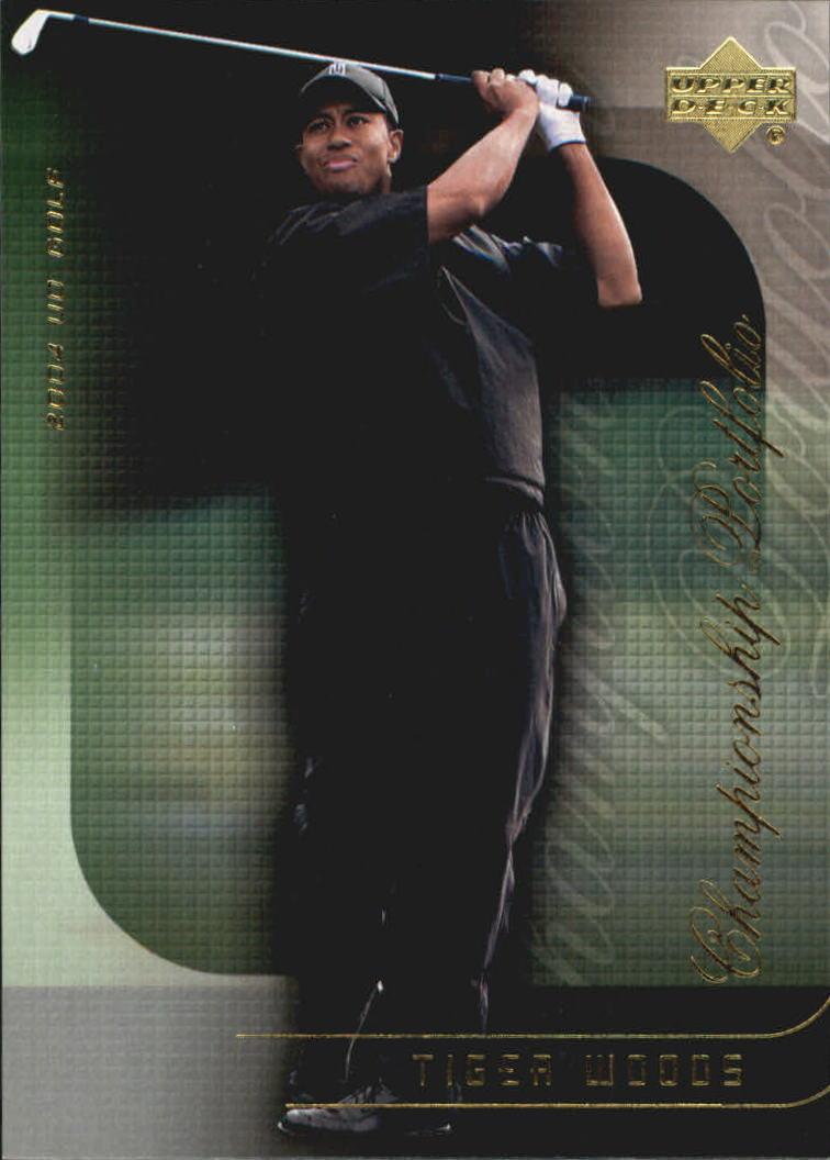 2004 Upper Deck Champion Portfolio #CP2 Tiger Woods