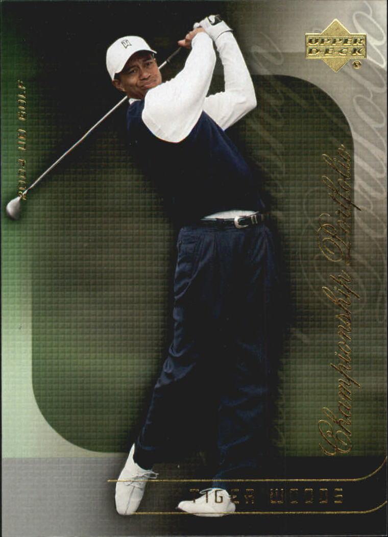 2004 Upper Deck Champion Portfolio #CP5 Tiger Woods