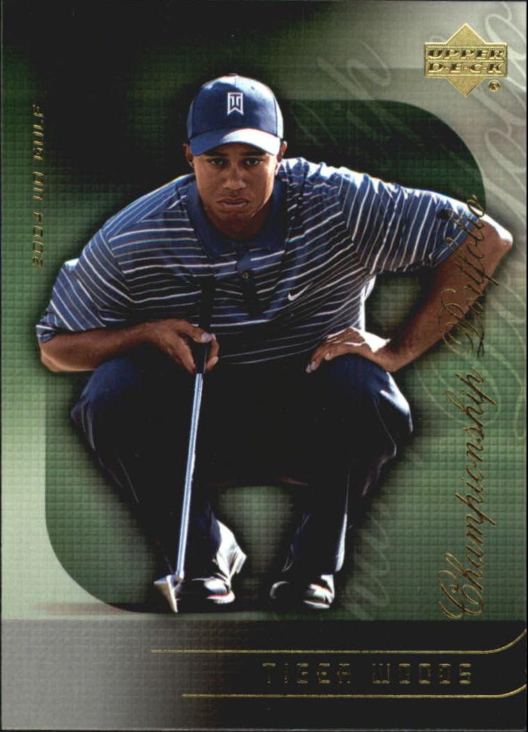 2004 Upper Deck Champion Portfolio #CP7 Tiger Woods