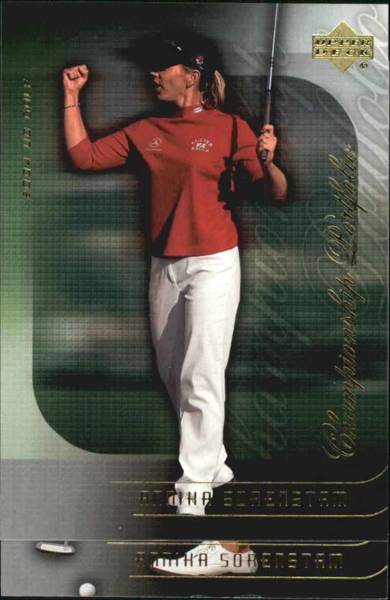 2004 Upper Deck Champion Portfolio #CP23 Annika Sorenstam