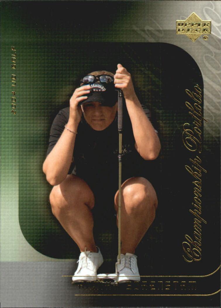 2004 Upper Deck Champion Portfolio #CP24 Annika Sorenstam