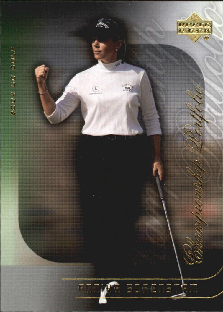 2004 Upper Deck Champion Portfolio #CP25 Annika Sorenstam