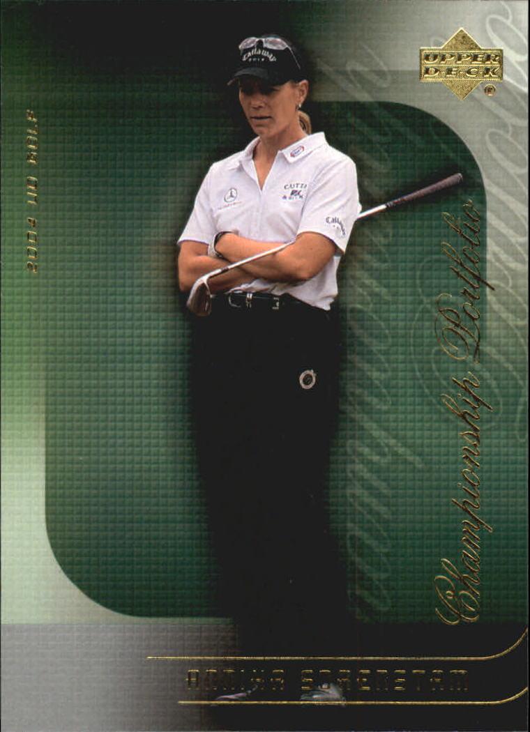 2004 Upper Deck Champion Portfolio #CP29 Annika Sorenstam