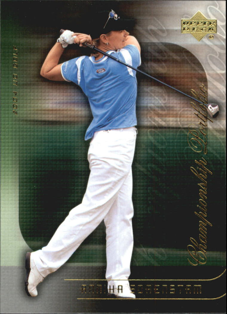 2004 Upper Deck Champion Portfolio #CP32 Annika Sorenstam