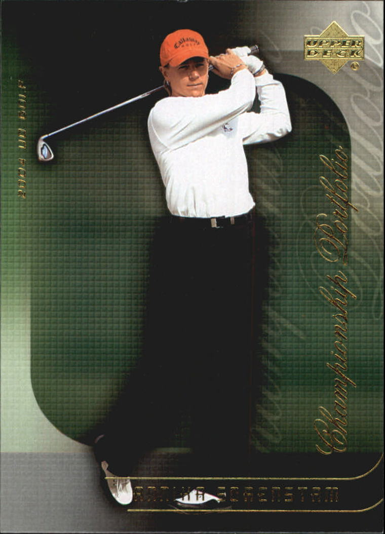 2004 Upper Deck Champion Portfolio #CP35 Annika Sorenstam
