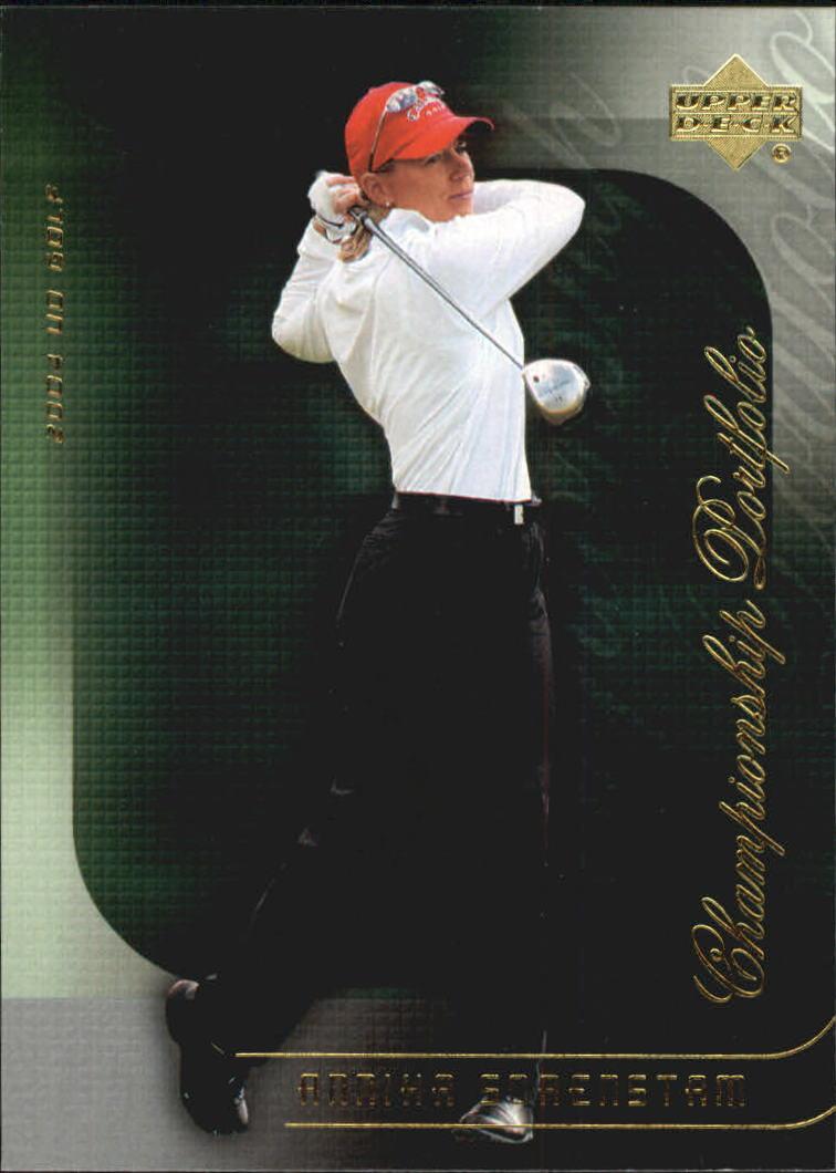 2004 Upper Deck Champion Portfolio #CP37 Annika Sorenstam