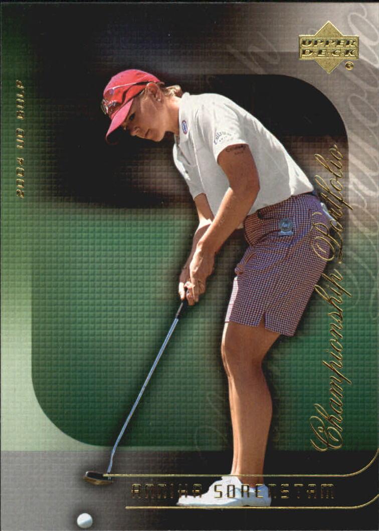 2004 Upper Deck Champion Portfolio #CP38 Annika Sorenstam