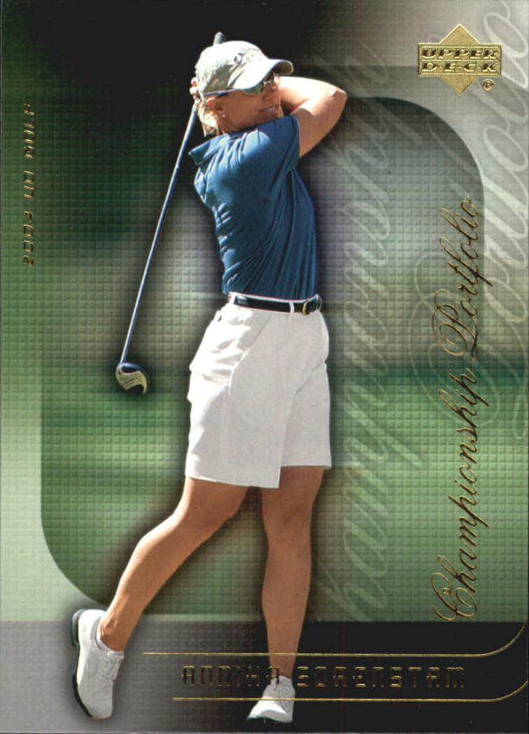 2004 Upper Deck Champion Portfolio #CP39 Annika Sorenstam